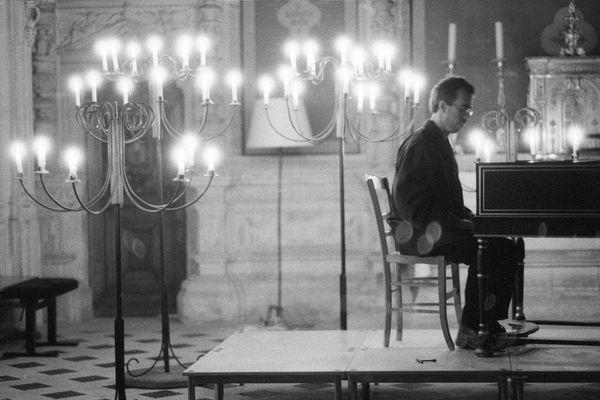 Le claveciniste Pierre Hantaï lors du festival d'août 2019. Il sera de nouveau présent cette année avec son concert intitulé Quoi de neuf Bach ? programmé le 22 août.