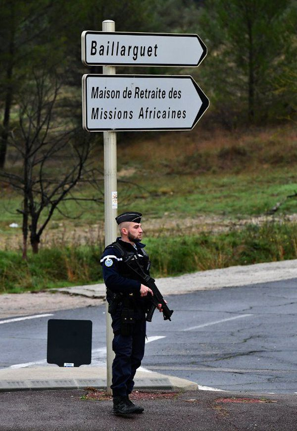 Le dispositif de la gendarmerie à Montferrier-le-lez