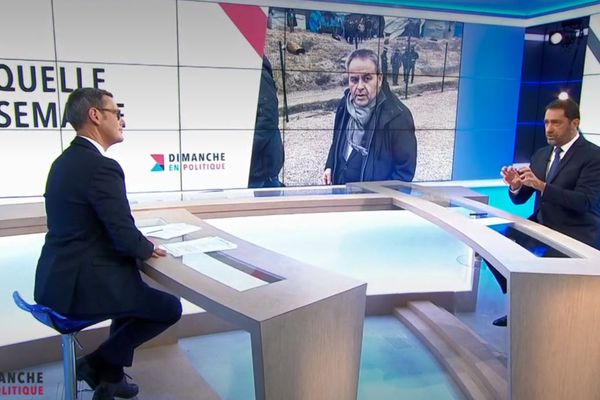 Christophe Castaner, invité de Dimanche en Politique, a répondu à Xavier Bertrand.
