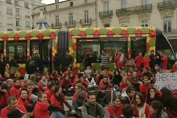 Montpellier : manifestation des ingénieurs et chercheurs précaires - 26 novembre 2012.