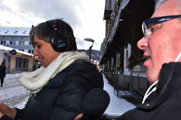 Véronique Lorre de France Bleu et Laurent Bylebyl de Radio Fantastic'Arts