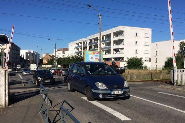 Passage Marboeuf où a eu lieu un accident de personne, à Rennes