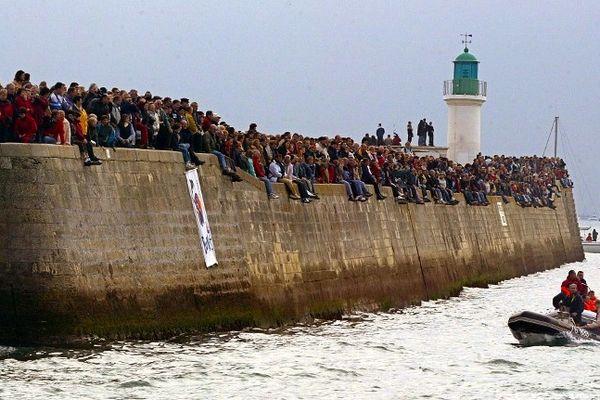 Comme chaque année la foule sera au rendez-vous du départ du Vendée Globe