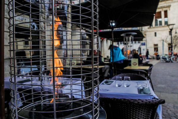 13 500 établissements parisiens disposeraient de terrasses chauffées.