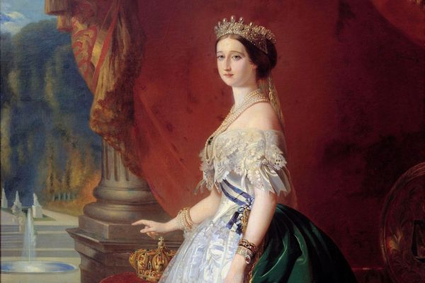 Portrait de Eugénie de Montijo