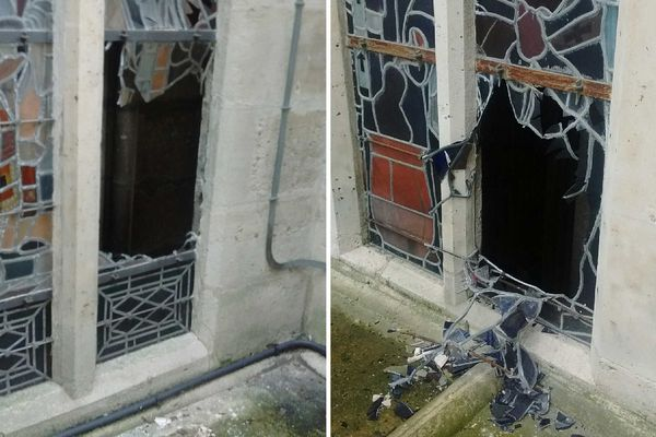 Deux vitraux de la basilique Saint-Denis (Seine-Saint-Denis) ont été fracturés la semaine dernière par un individu qui s'est introduit dans l'édifice religieux.