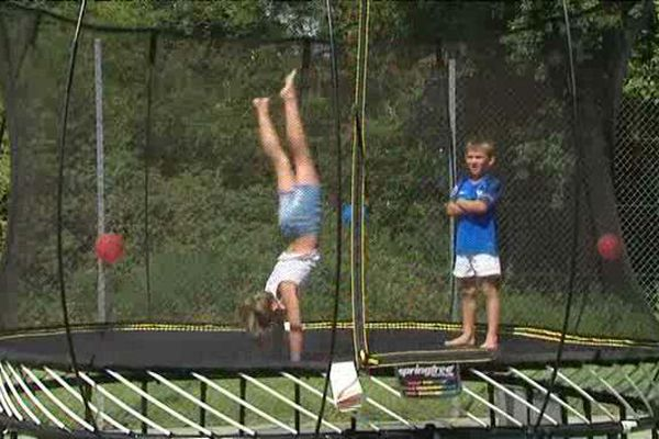 Le SpringFree, un nouveau type de trampoline sans ressorts