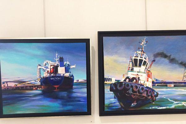 Les bateaux de Sylvie Desmoulin