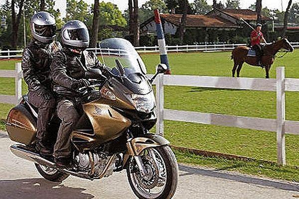 La moto objet du litige...