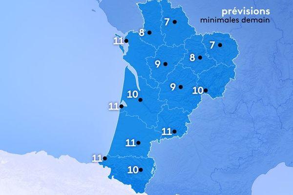7° à Guéret et Poitiers