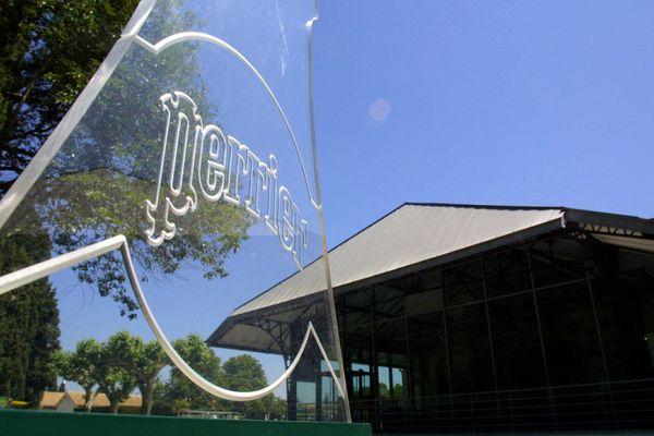 L'usine Perrier est située à Vergèze dans le Gard.