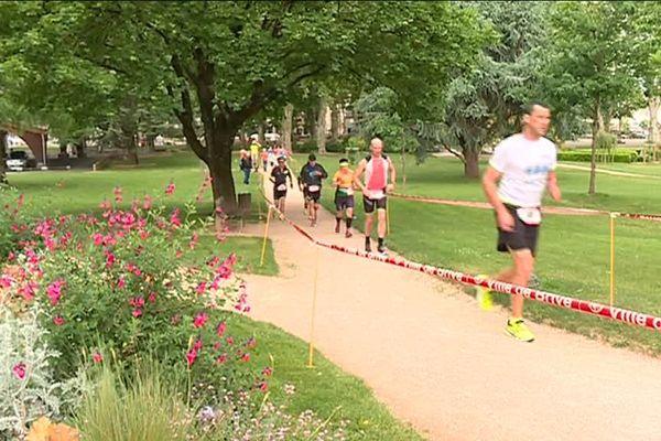Quelques uns des 94 mordus prêts à courir durant 24h, à Brive !