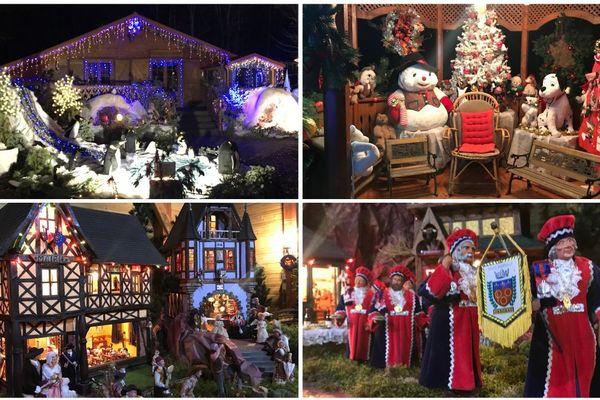 Daniel et Danielle vous accueillent dans leur petit monde merveilleux de Noël à Chailly-en-Gâtinais (Loiret).