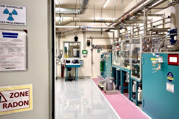 Le Plomb-212 est fabriqué par dissolution du nitrate de Thorium.