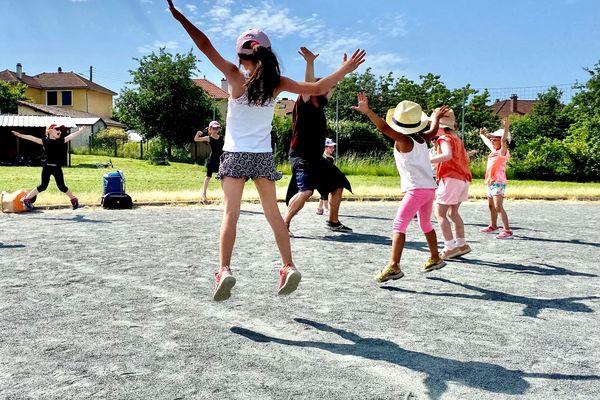 Dans cette école de danse de Pierre-Buffière, les cours ont pu reprendre en extérieur uniquement depuis le 19 mai 2021.