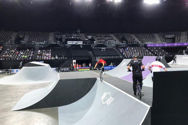 Les championnats du monde de BMX freestyle se tiennent à la Sud de France Arena de Montpellier du 4 au 8 juin.
