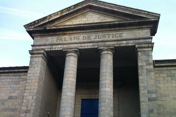 le palais de justice de Quimper (29)