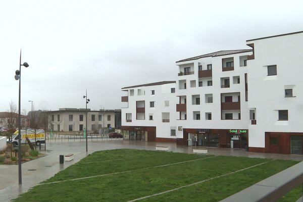 L'écoquartier de Tarnos a été construit il y a quelques mois.