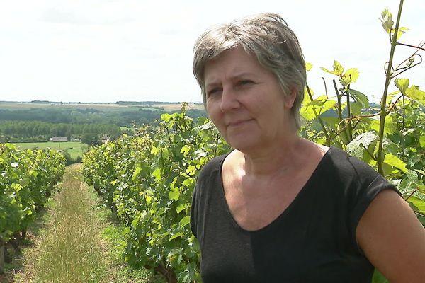 Sandrine Pairel. Oeunologue et animatrice du syndicat des vins de Jasnières et coteaux du Loir (Sarthe)