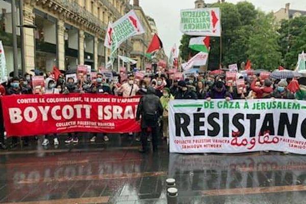 Le rassemblement débutait à 11 heures à Toulouse.