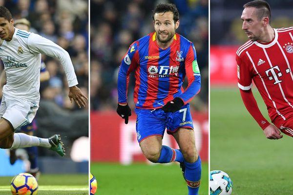 Varane, Cabaye et Ribéry