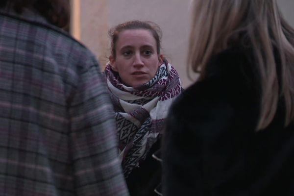 Valérie Bacot, le 21 novembre 2019, lors du procès de ses enfants