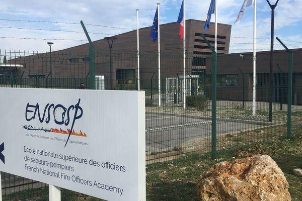 Ecole nationale supérieur des officiers de sapeurs-pompiers (Ensosp) d'Aix- les-Milles (Bouches-du-Rhône)