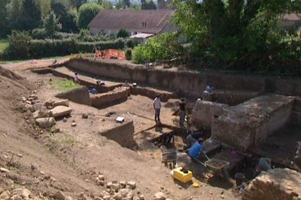 Avec ses 134 mètres de diamètre, le théâtre mis à jour à Autun pourrait être le plus grand du monde romain