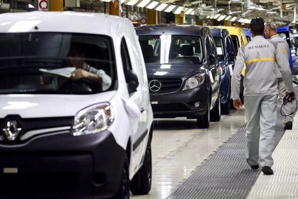 L'usine MCA Maubeuge, filiale du groupe Renault.