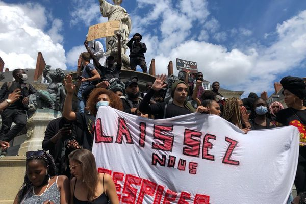 La dernière manifestation contre les violences policières à Nantes s'est déroulée le 8 juin dernier et a rassemblé dans le calme plusieurs milliers de personnes