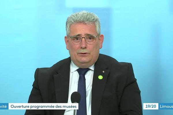 Pascal Coste dans le JT de France 3 Limousin du 17-03-2021