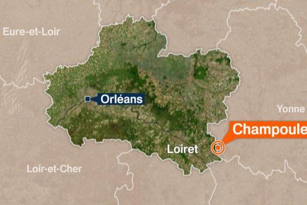 Champoulet, petite bourgade du Loiret de quelques quarante habitants