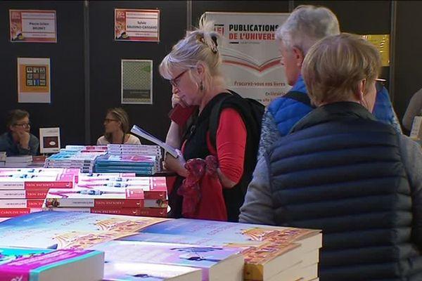 La fête du livre de St Etienne se déroule jusqu'au 14 octobre