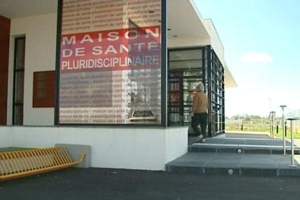 La maison de santé pluridisciplinaire de Port-la-Nouvelle (Aude).