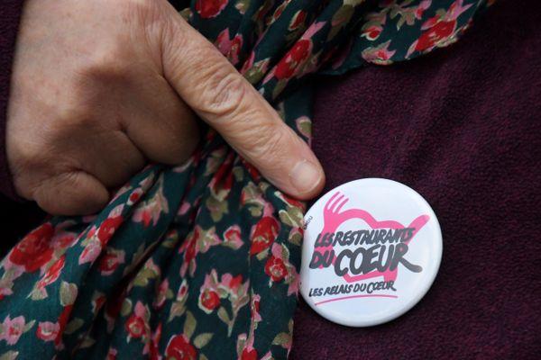 Lancement de la campagne des Restos du cœur à Perpignan, le 24 novembre 2020 (image d'illustration).