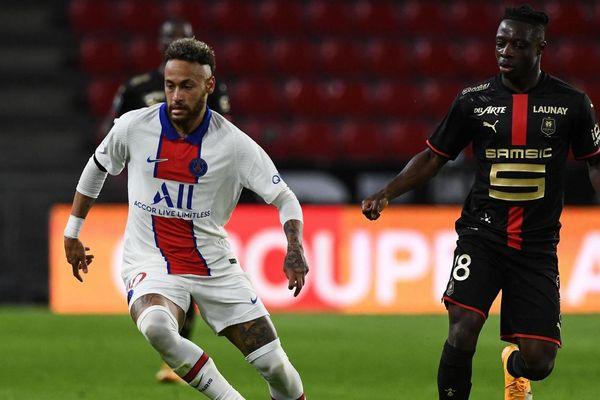 Neymar et le PSG ont raté le coche face à Rennes dimanche 9 mai dans le cadre de la 36ème journée de Ligue 1. PHOTO AFP - AFP