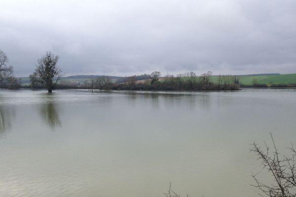 Dinteville, Haute-Marne, le 22 janvier 2018