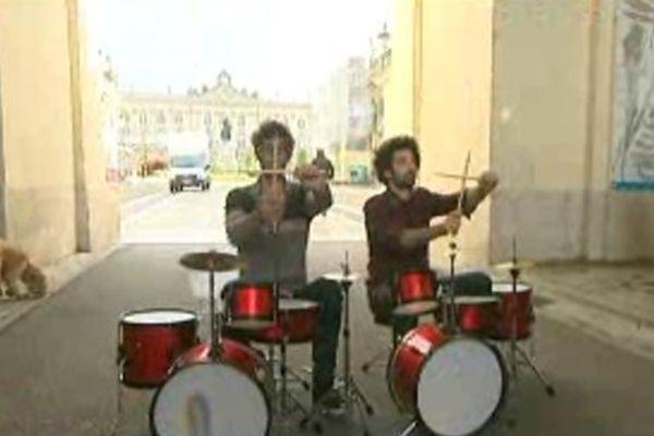 Concert porte Héré à Nancy.
