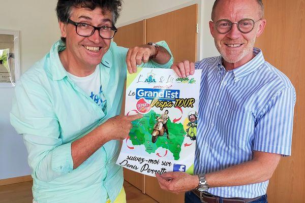 Marc Zingraff, le maire de Sarreguemines a souhaité rencontrer Denis Perrette.