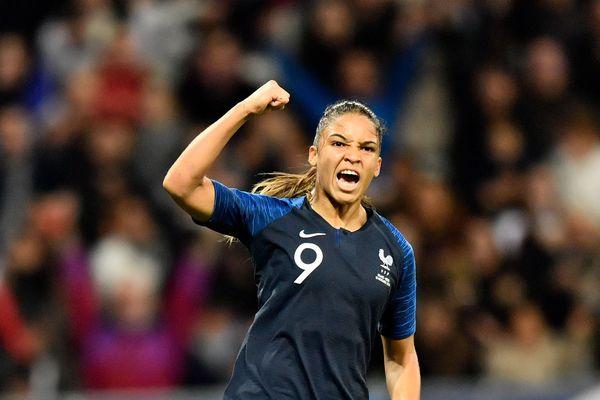 Delphine Cascarino sur la liste des 23 joueuses retenues par Corinne Diacre pour la rencontre France-Allemagne du 28 février 2018 à Laval