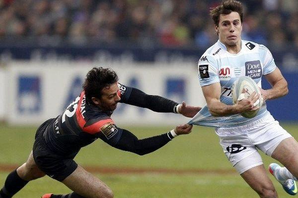 Les joueurs du Racing-Métro ont perdu à l'aller et au retour contre Toulouse lors de la saison régulière.