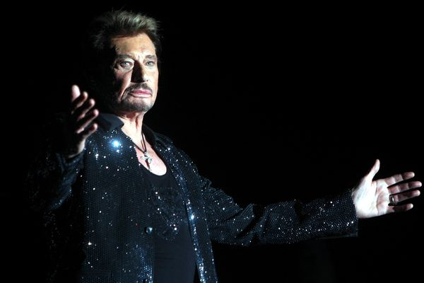 L'idole lors de son concert au Millésium d'Epernay, le 1er novembre 2009.