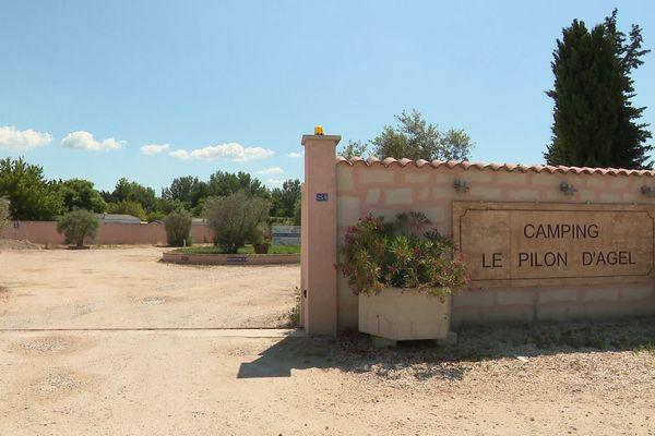 Les ouvriers agricoles testés positifs au Covid-19 sont confinés dans ce camping.