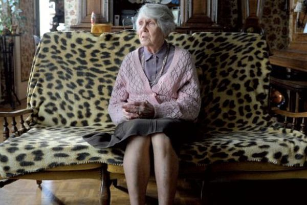 Simone Vauttier, 88 ans, est née en 1926 à Saint-Vaast-la-Hougue. Elle est arrivée à Saint-Lô en 1933 où elle habite toujours.