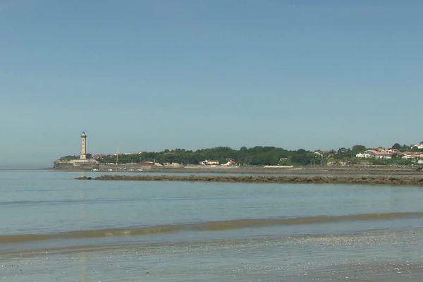 La plage de Saint-Georges-de-Didonne en Charente-Maritime