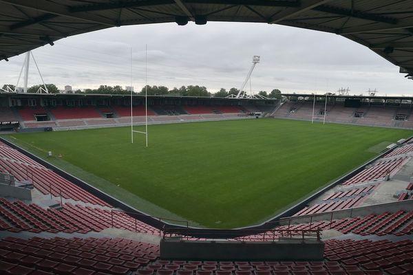 Le stade Ernest Wallon va rester vide plusieurs semaines et les joueurs en chômage partiel ne pourront pas s'y entraîner ni accéder à la salle de sports.