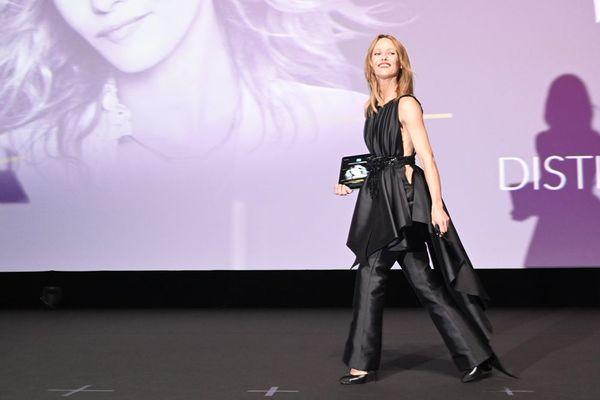 Vanessa Paradis, président du jury du 46e festival du cinéma américain de Deauville