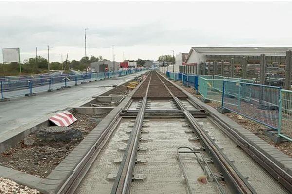 Les travaux de construction de la ligne D du tramway bordelais sont pour l'instant conformes au calendrier.