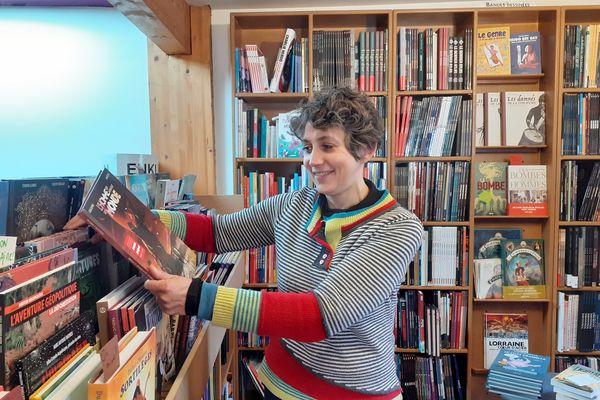 Sophie Laurent, libraire indépendante à Obernai
