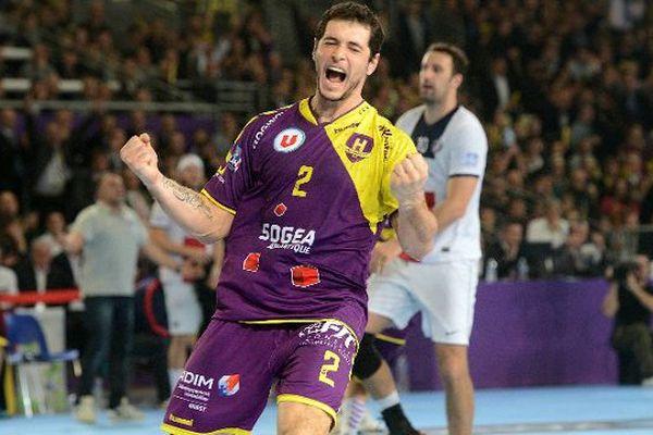 Entrerrios Alberto le 12/12/2013  lors de la rencontre en division 1 face à Paris dans la salle XXL de la Beaujoire.